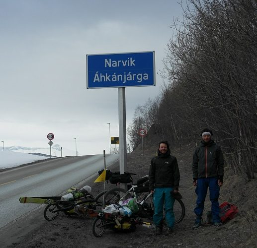 #Expedalition- Eine Skitourentrip mit dem Rad