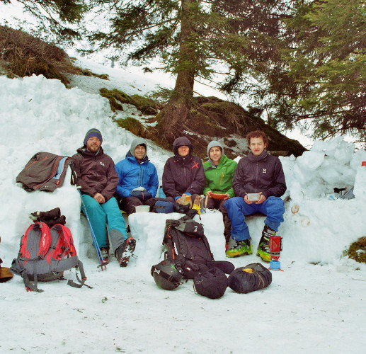 Friends on no-Powder days