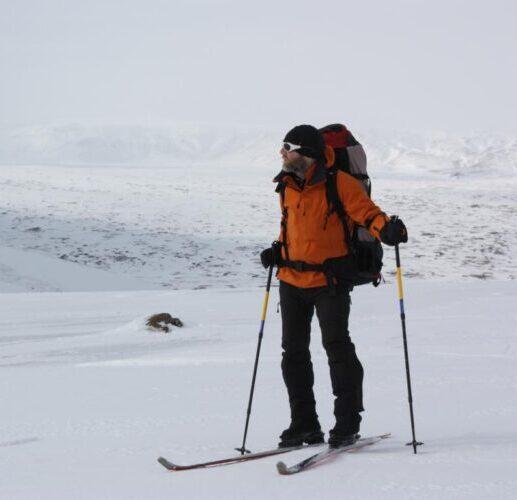 Winter im isländischen Hochland – solo